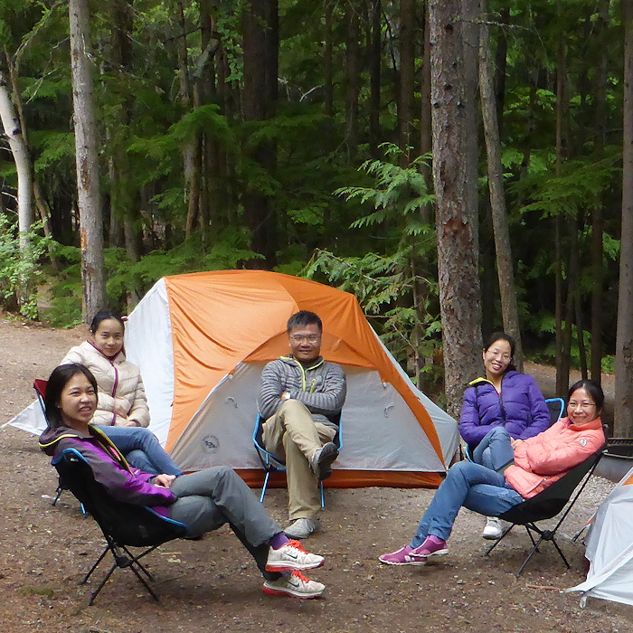 Man c&ed at Glacier National Park with his staff in August 2014 medium 700px  sc 1 st  TheTentLab & Tent Factory | TheTentLab